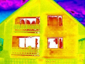 tepelné ztráty lodžie balkón