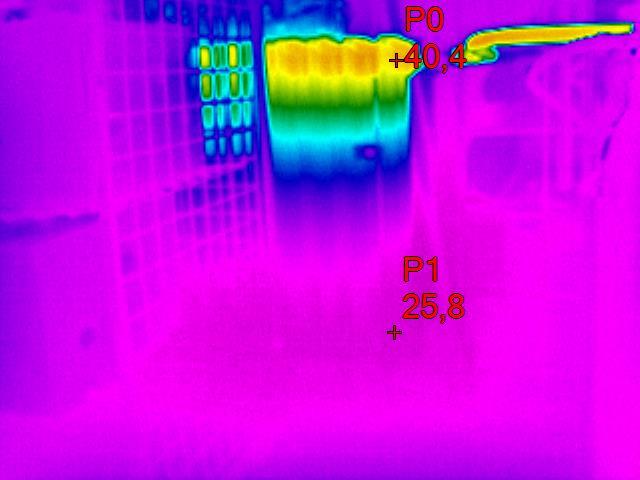 termovize topné těleso
